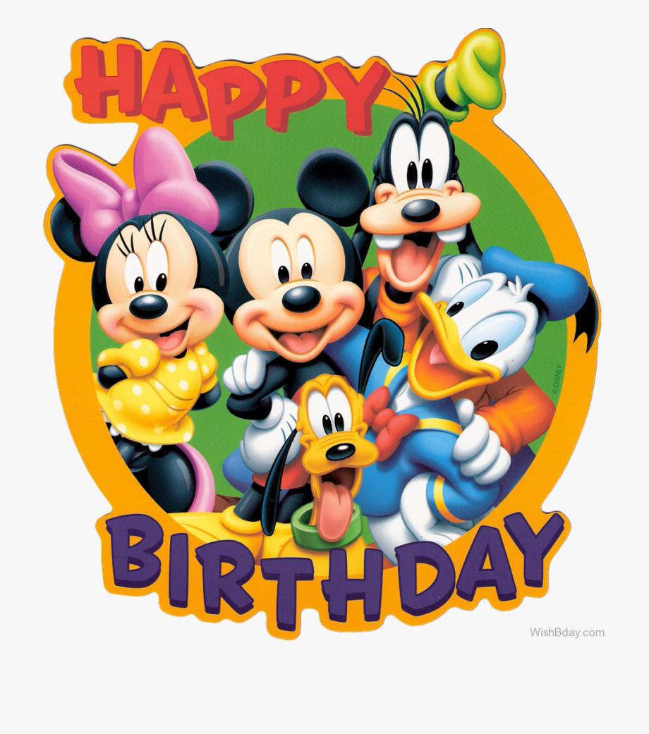 Animated happy birthday michelle clipart black and white Happy Birthday With Disney Cartoon - Happy Birthday With Cartoon ... black and white