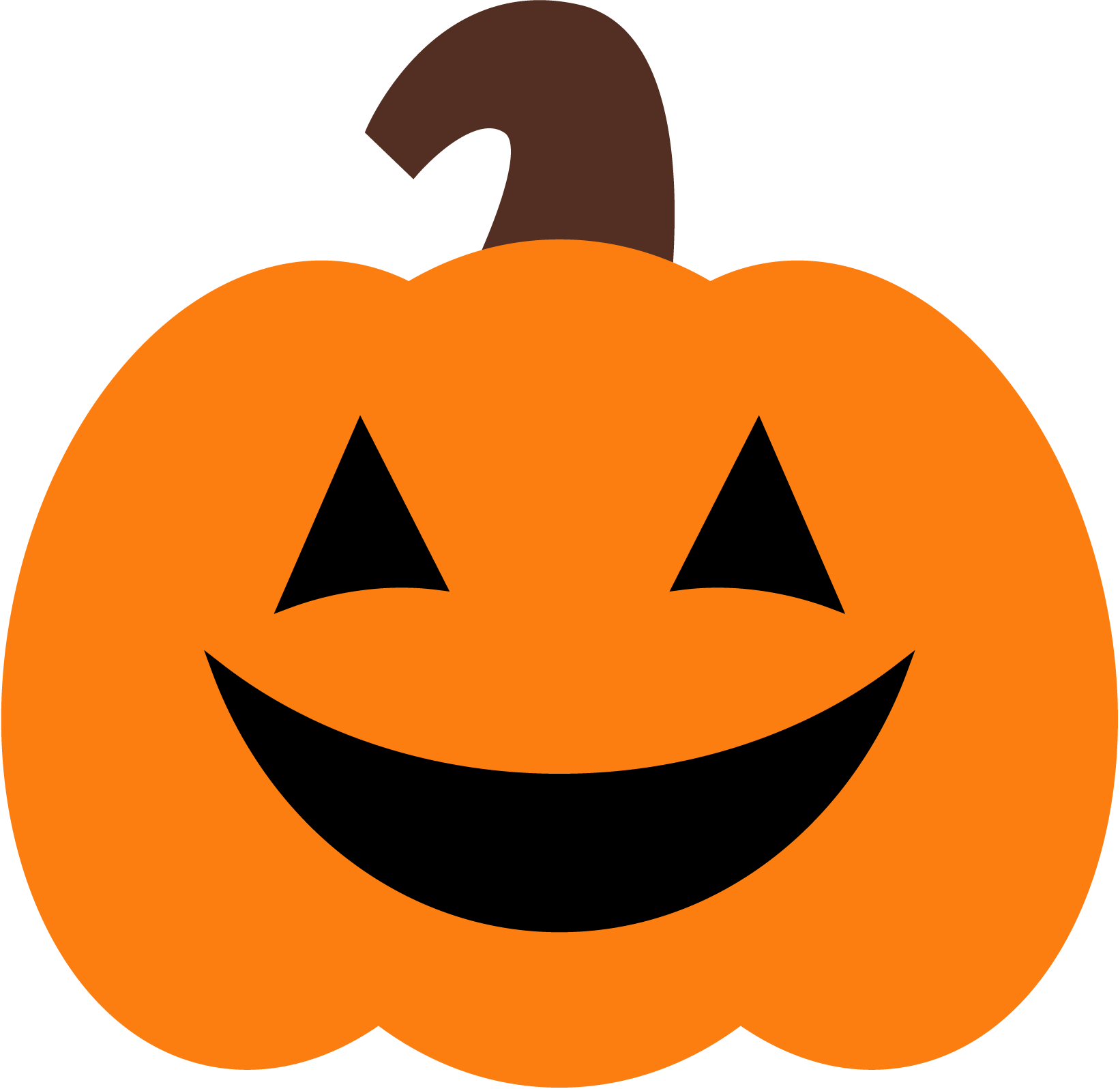 Pumpkin with cut for face clipart png royalty free download Halloween Pumpkin Clipart at GetDrawings.com | Free for personal use ... png royalty free download