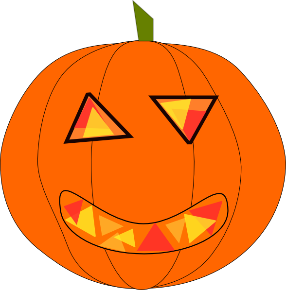 Silly pumpkin faces clipart svg transparent library Halloween Clipart | Clipart Panda - Free Clipart Images svg transparent library