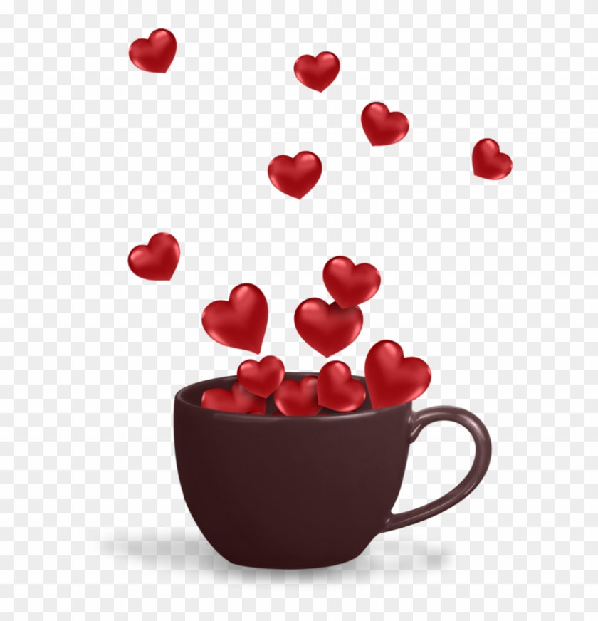 Glitter coffee love animated clipart transparent background jpg library stock Heart Coffee Mug - - Happy Valentine\'s Day Sister Animated Gif ... jpg library stock