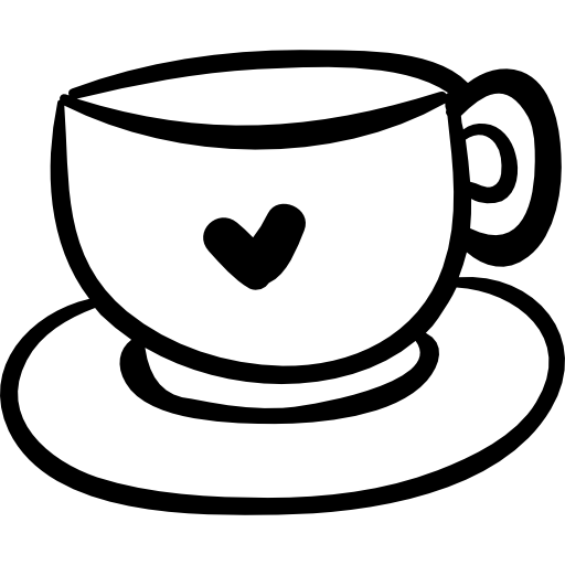 Animated heart coffee cup clipart glitter transparent background png library download Cup Drawing | Free download best Cup Drawing on ClipArtMag.com png library download