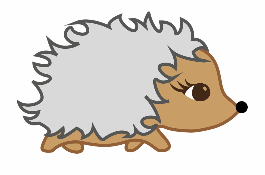Animated hedgehog clipart vector black and white stock Hedgehog - Animated Hedgehog Free PNG Images & Clipart Download ... vector black and white stock