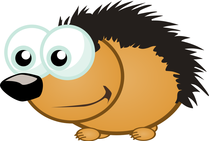 Animated hedgehog clipart clip art library library Cartoon Hedgehog Cliparts - Cliparts Zone clip art library library