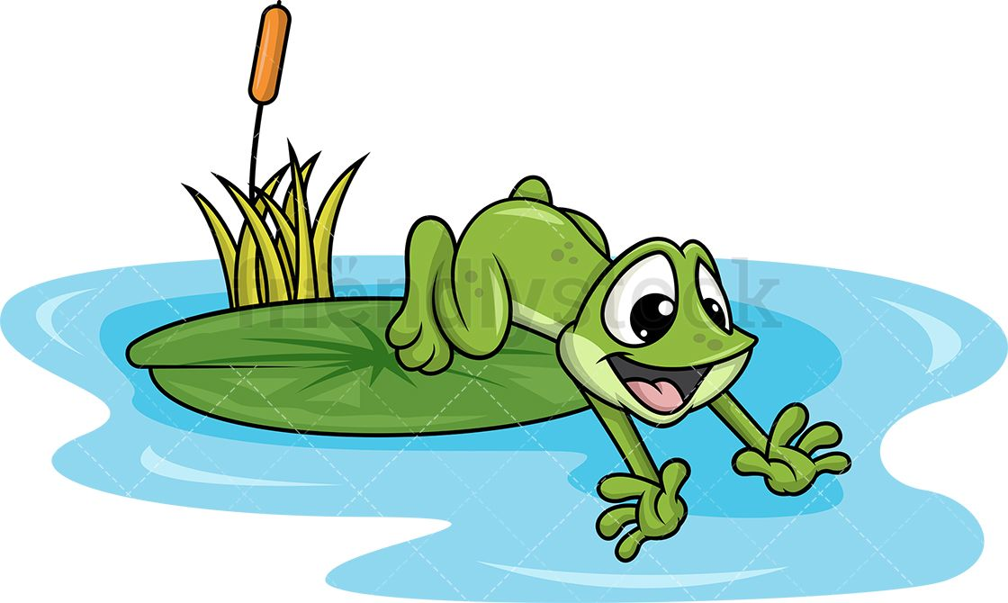 Animated hopping clipart good morning png library download Frog Jumping Into Pond | images of cartoon frogs | Pond, Vector ... png library download