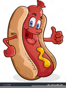 Hot dog cartoon clipart graphic royalty free stock Free Cartoon Hot Dog Clipart | Free Images at Clker.com - vector ... graphic royalty free stock