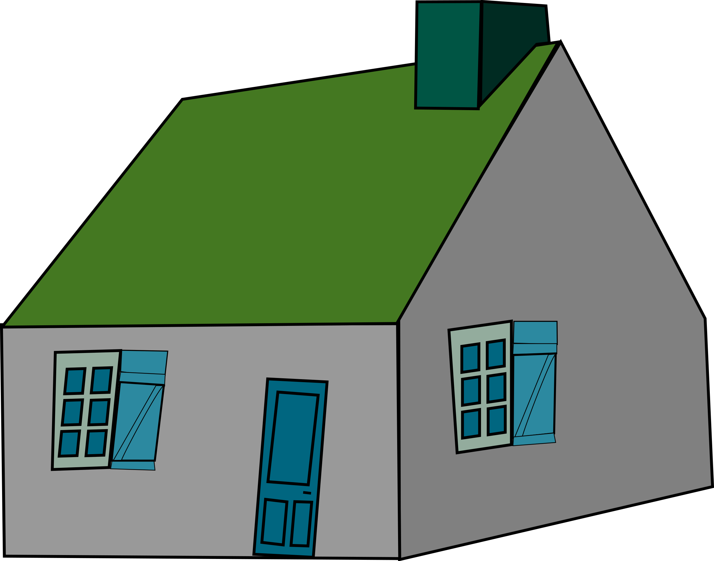 Animated house clipart banner free  banner free