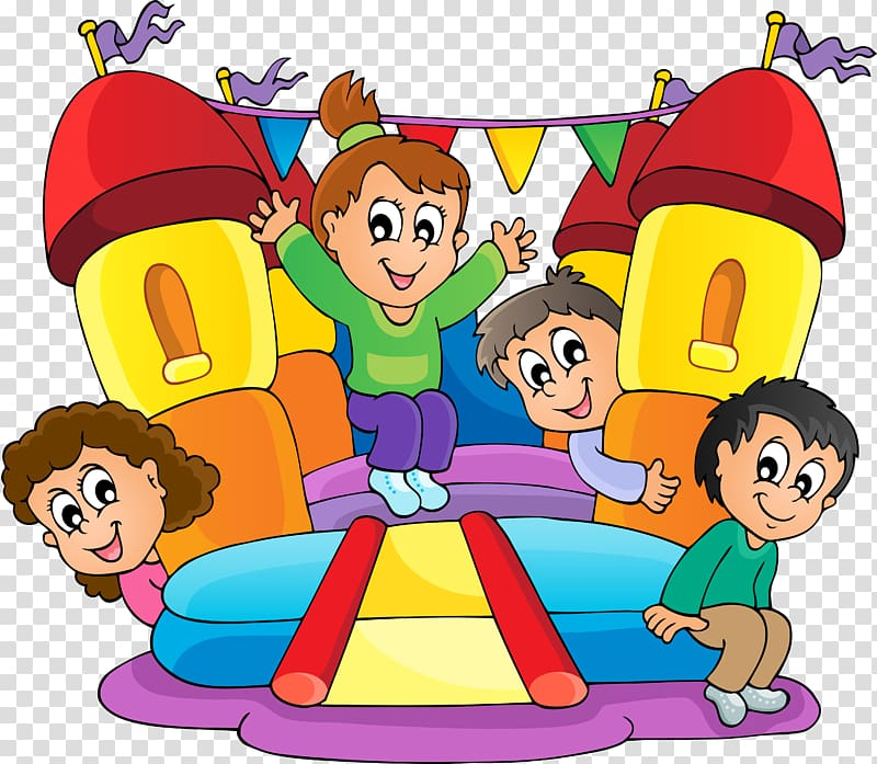 Animated inflatable waterslide clipart png library library Inflatable Bouncers , Children transparent background PNG clipart ... png library library