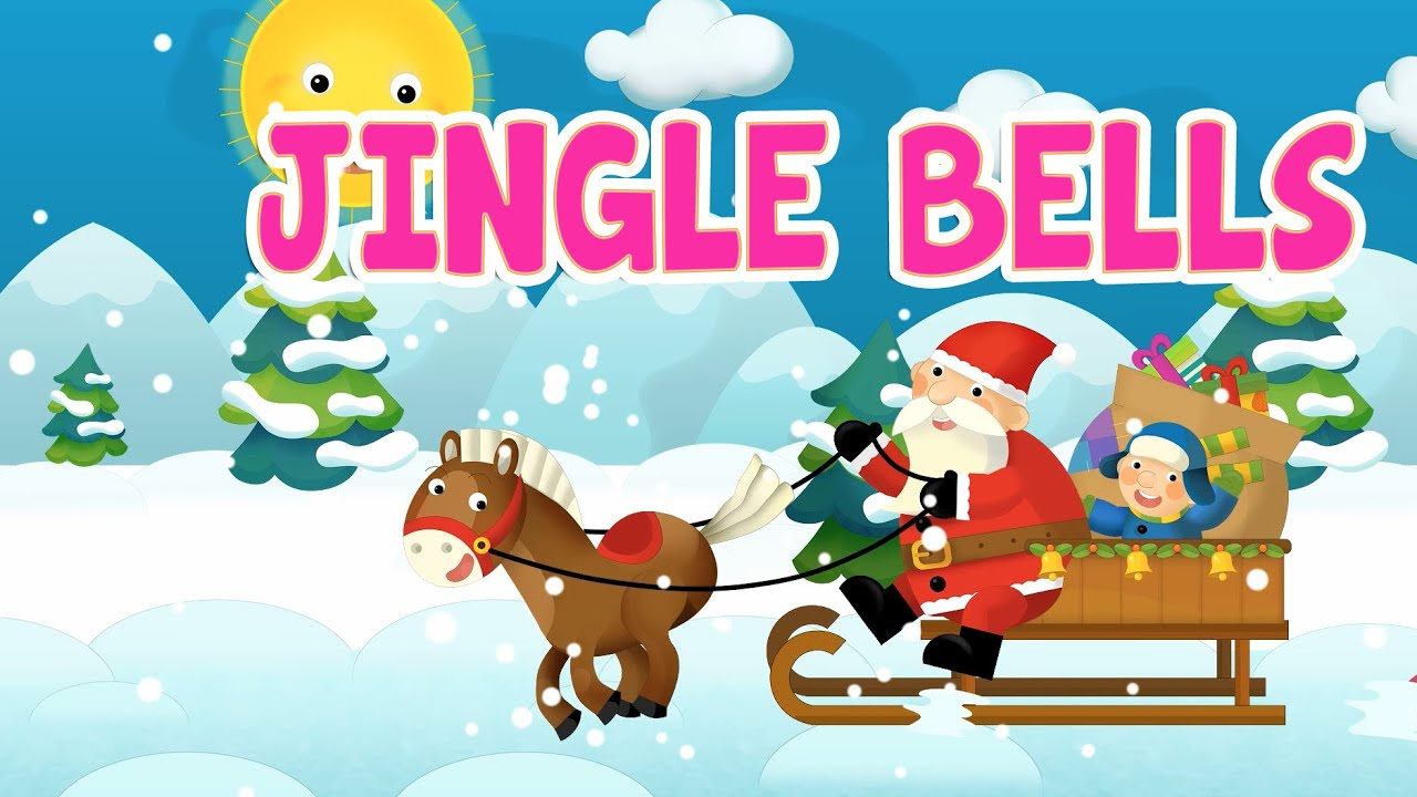 Animated jingle bells clipart image freeuse stock Jingle Bells with lyrics - Kids Christmas Songs & Nursery Rhymes by  EFlashApps image freeuse stock