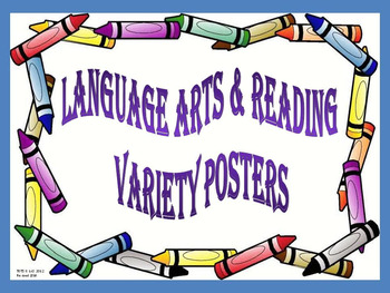 Animated language arts clipart jpg transparent library 89 Animated Reading & Language Arts Posters jpg transparent library