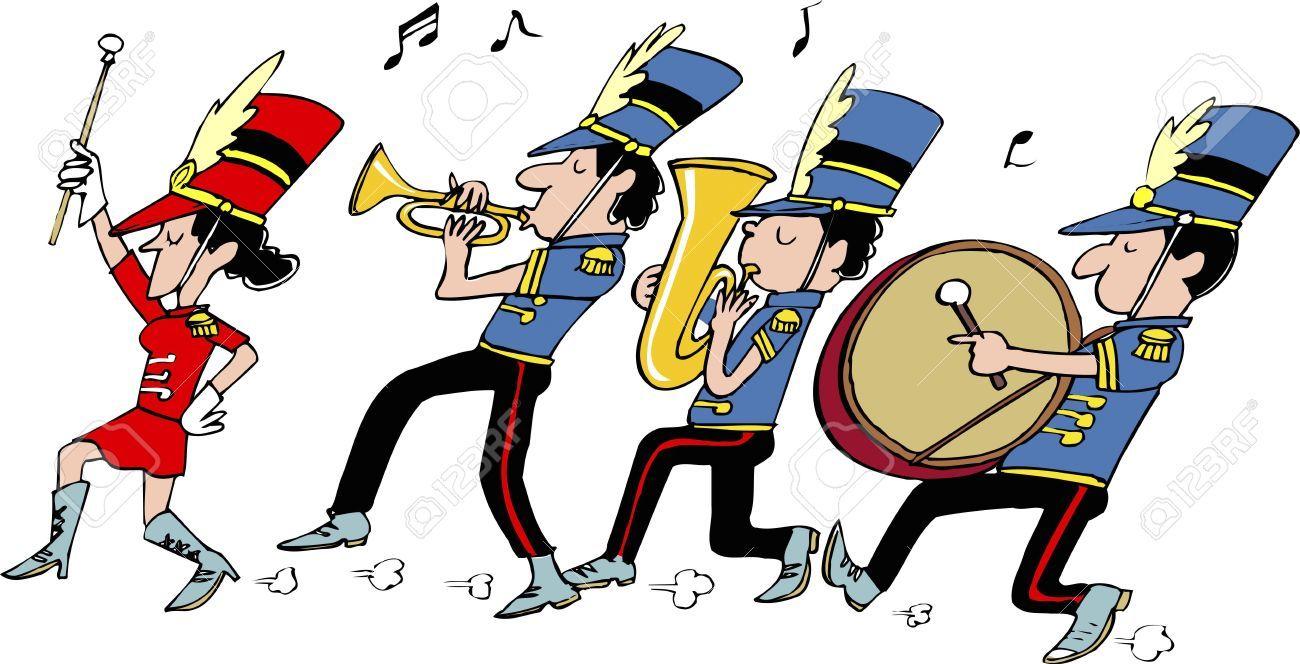 Animated marching band clipart clip library library Free marching band clipart 1 » Clipart Portal clip library library