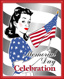 Free animated clipart memorial day vector library Free Memorial Day Clipart - Memorial Day Animations - Gifs vector library