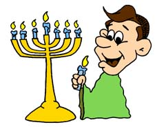 Animated menorah clipart graphic royalty free Free Hanukkah Clipart & Animations graphic royalty free