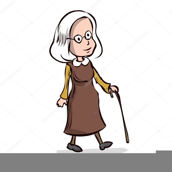 Animated old lady clipart graphic royalty free download Old Lady Cartoons Clipart Free Images At Clker Com Vector Clip ... graphic royalty free download