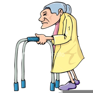 Old clipart free clip art royalty free stock Old Lady Walker Clipart | Free Images at Clker.com - vector clip art ... clip art royalty free stock