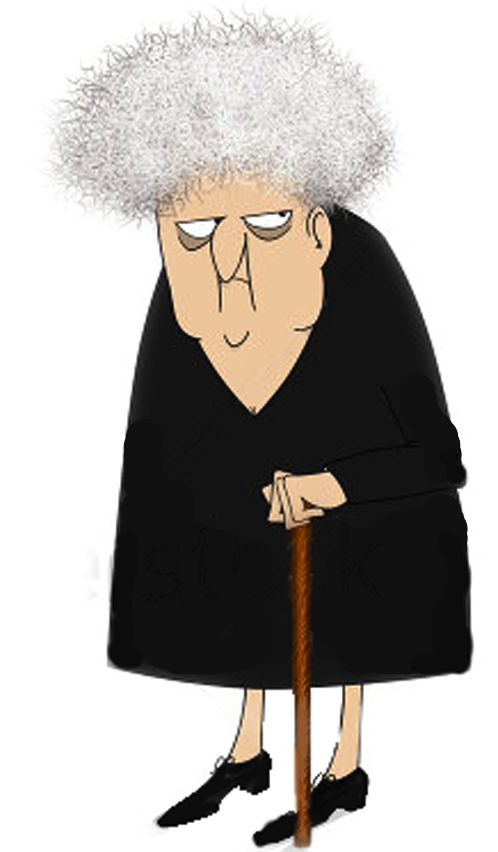 Animated old lady clipart black and white download Cranky Old Lady Clipart - Clipart Kid | backgrounds, clipart, images ... black and white download