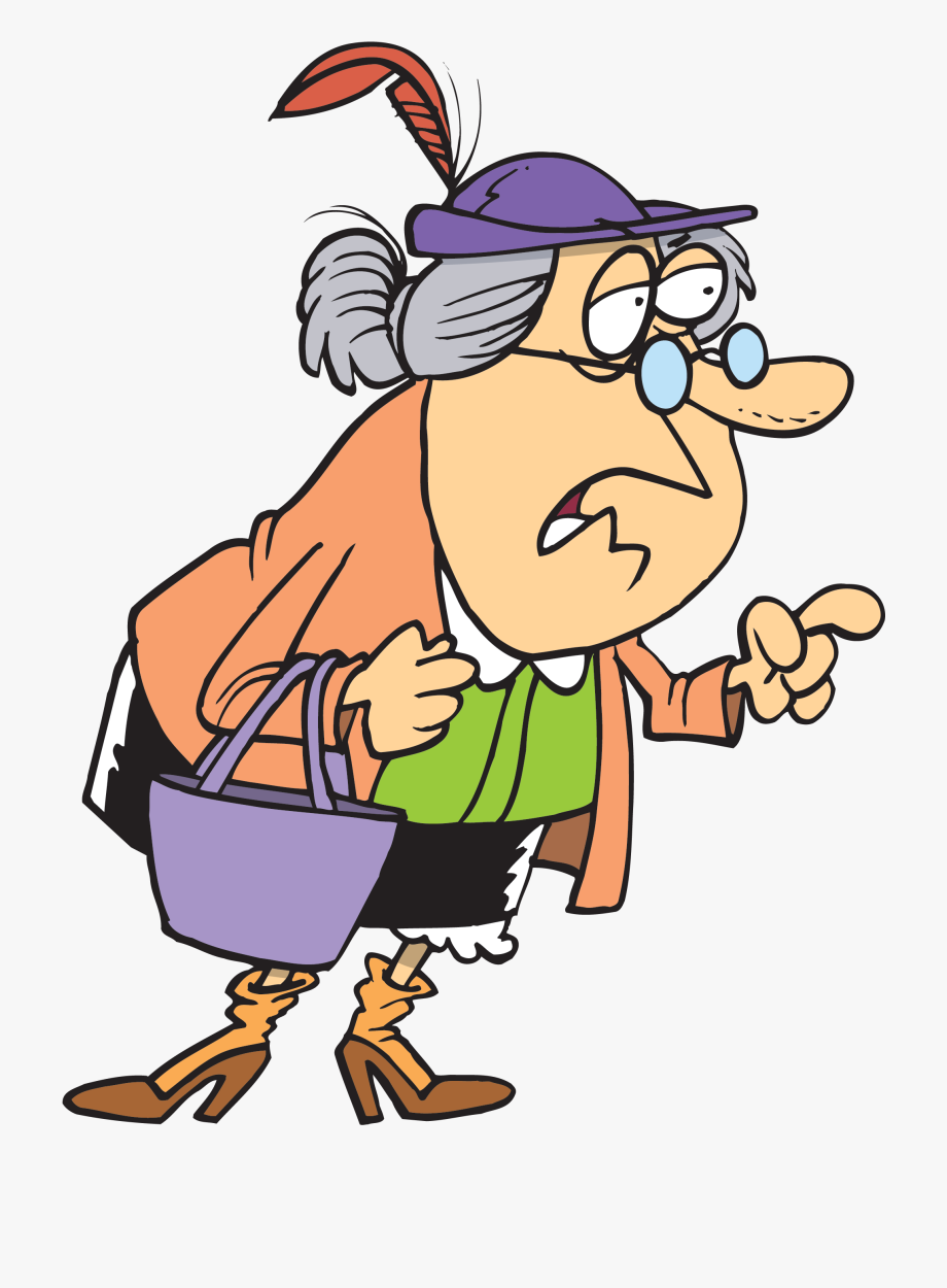 Old woman clipart free clipart freeuse library Old Woman Stock Illustrations, Cliparts And Royalty - Little Old ... clipart freeuse library