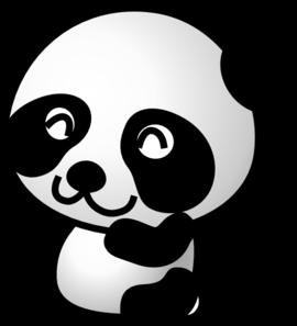 Free clipart panda bear picture royalty free Panda 7 Clip Art at Clker.com - vector clip art online, royalty free ... picture royalty free