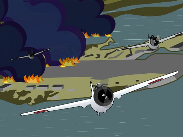 Animated pearl harbor clipart image library download Pearl Harbor - BrainPOP image library download
