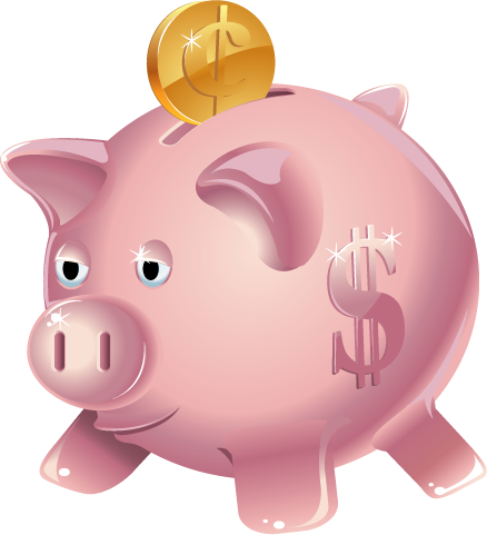 Animated piggy bank clipart. Clipartfest fort