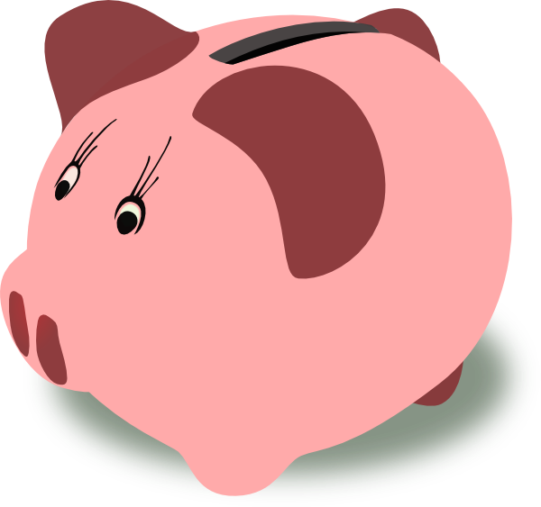 Clip art the cliparts. Animated piggy bank clipart
