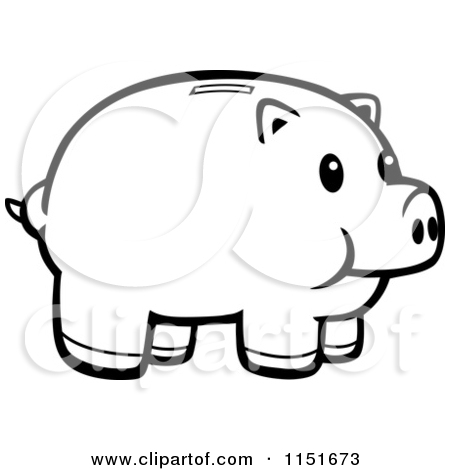 Animated piggy bank clipart. Royalty free money illustrations