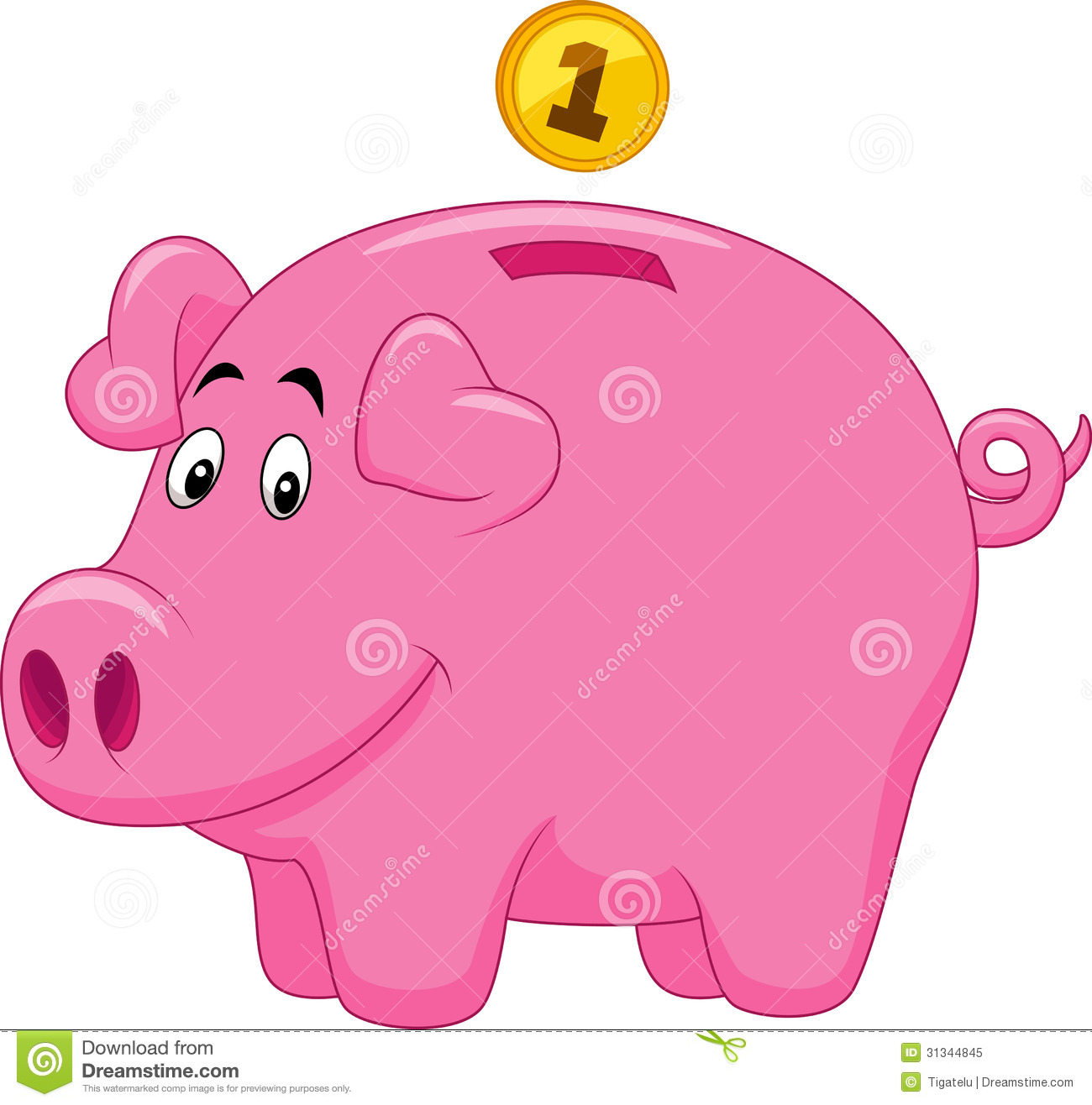 Animated piggy bank clipart banner download Cartoon piggy bank clipart - ClipartFest banner download