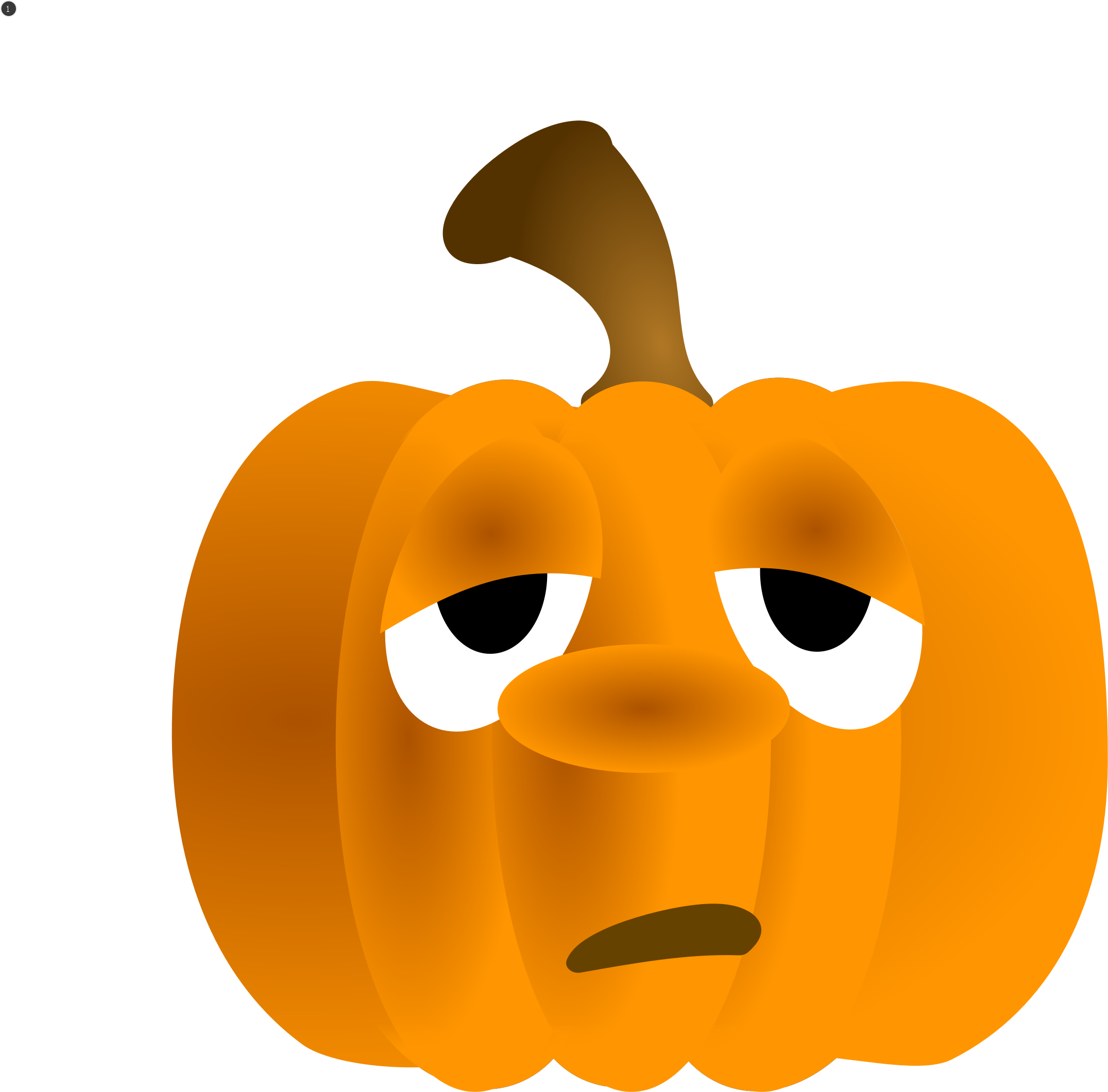 Clipart unhappy pumpkin protesting clipart transparent download Clipart - Pumpkin Animation clipart transparent download