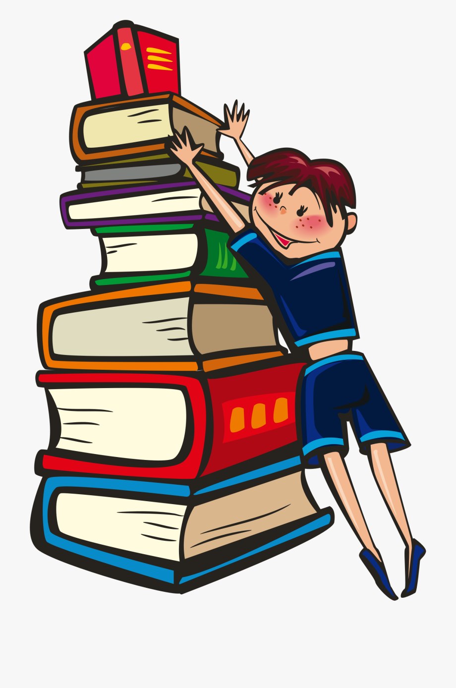 Animated reading books clipart banner library library Animated Book Clipart - Books Our Best Friends #7474 - Free Cliparts ... banner library library