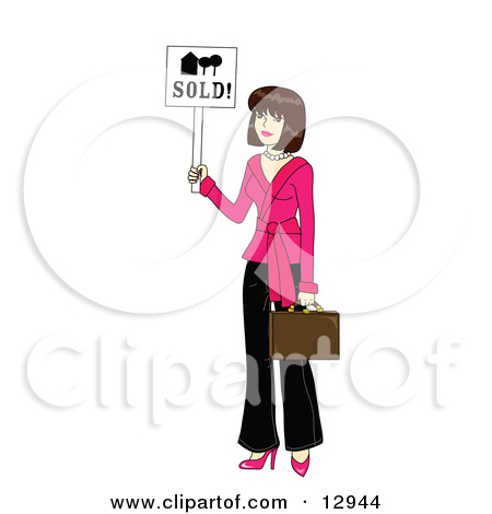 Royalty free rf realtor. Animated real estate clipart
