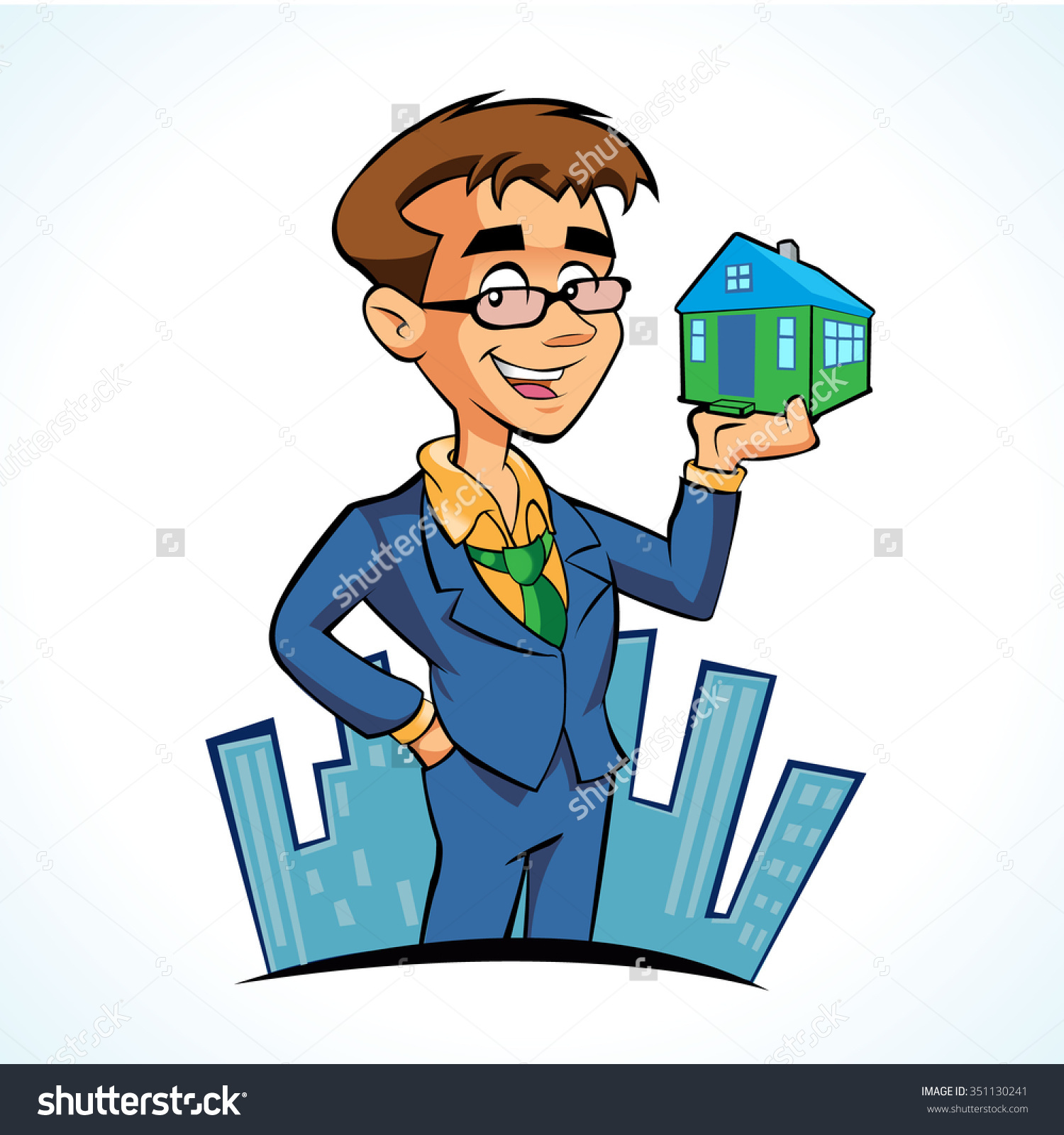 Agent clip art free. Animated real estate clipart