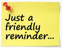Just a friendly reminder clipart graphic transparent Animated Reminder Clipart Clipartcow Clipart Images Black and White ... graphic transparent