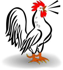 Animated rooster clipart image free stock Rooster Clip Art at Clker.com - vector clip art online, royalty free ... image free stock