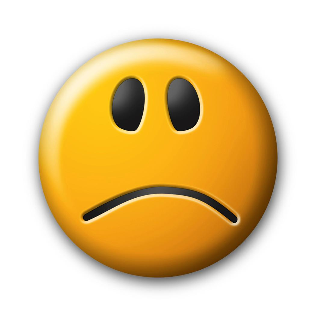 Animated sad face clipart