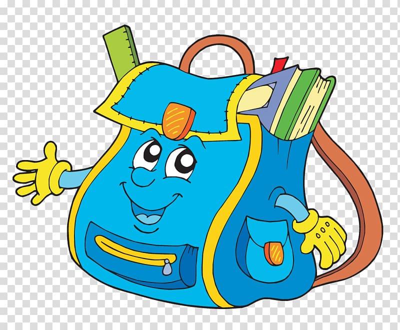 Animated school bag clipart svg black and white Bag School Backpack , Cartoon bag transparent background PNG clipart ... svg black and white