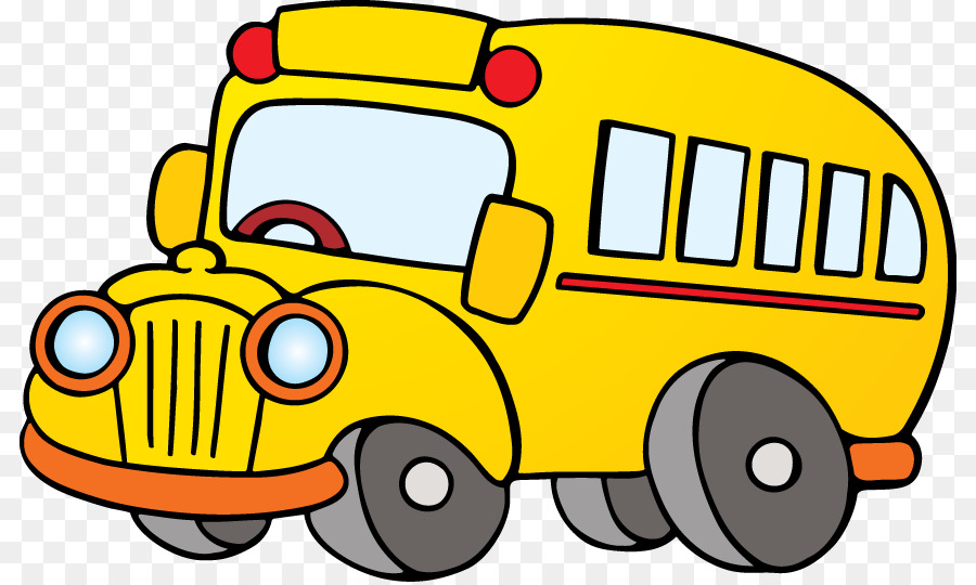Animated school bus clipart clipart black and white library Cartoon School Bus clipart - Bus, Car, transparent clip art clipart black and white library