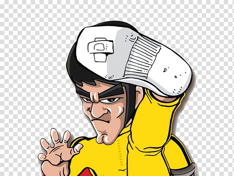 High kick clipart clip royalty free download Dragon: The Bruce Lee Story Cartoon Comics, Bruce Lee high kick ... clip royalty free download