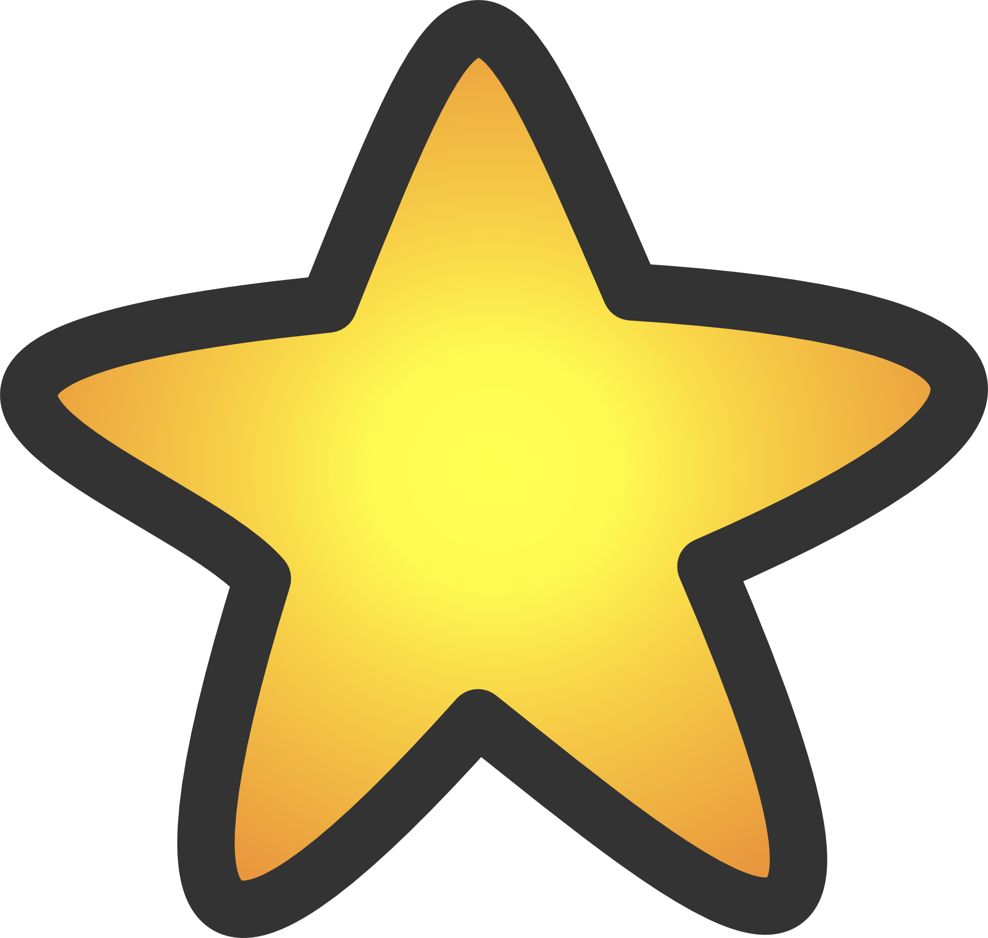 Free gold star clipart clip art black and white Star Clipart | jokingart.com clip art black and white
