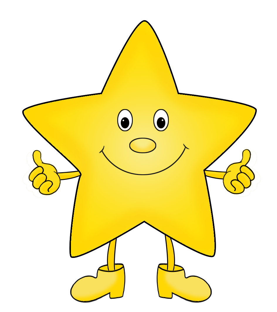 Cartoon Stars Clipart (57+) vector library stock