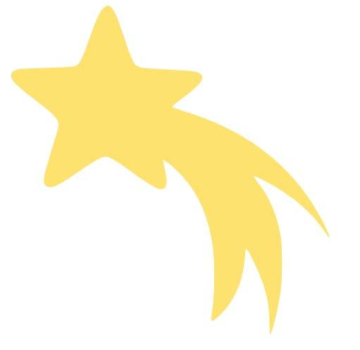 Animated shooting star clipart clip royalty free stock Best Shooting Star Outline #19946 - Clipartion.com clip royalty free stock