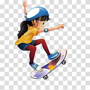Animated skateboard clipart clip art stock Cartoon illustration Illustration, Cartoon characters,Skateboard Boy ... clip art stock