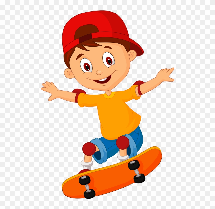Animated skateboard clipart banner royalty free library Skateboard Clipart 2 Guy - Skateboard Cartoon Png Transparent Png ... banner royalty free library