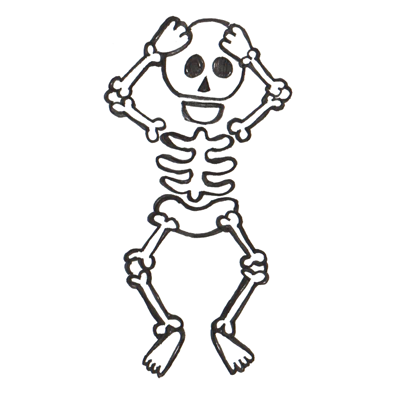 Animated skeletons clipart svg freeuse library Animated skeleton clipart - Clip Art Library svg freeuse library