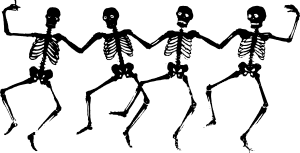Animated skeletons clipart image free stock Dancing Skeletons Clip Art at Clker.com - vector clip art online ... image free stock