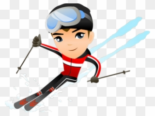 Animated skier clipart clip art free library Skiing Clipart Family Four - Skiing Cartoon Snow Illustration - Png ... clip art free library