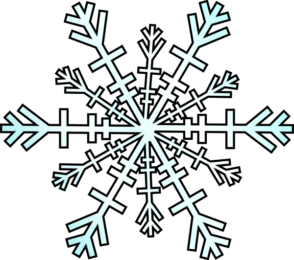 Free snowflake clipart transparent background picture black and white download Animated Snowflake Clipart (54+) picture black and white download
