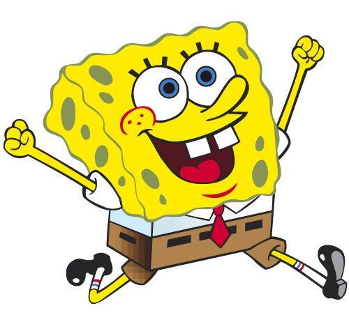 Animated spongebob clipart