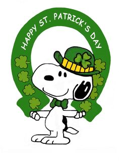 Animated st patrick-s day clipart clipart stock Snoopy St Patricks Day Clipart   Free download best Snoopy St ... clipart stock