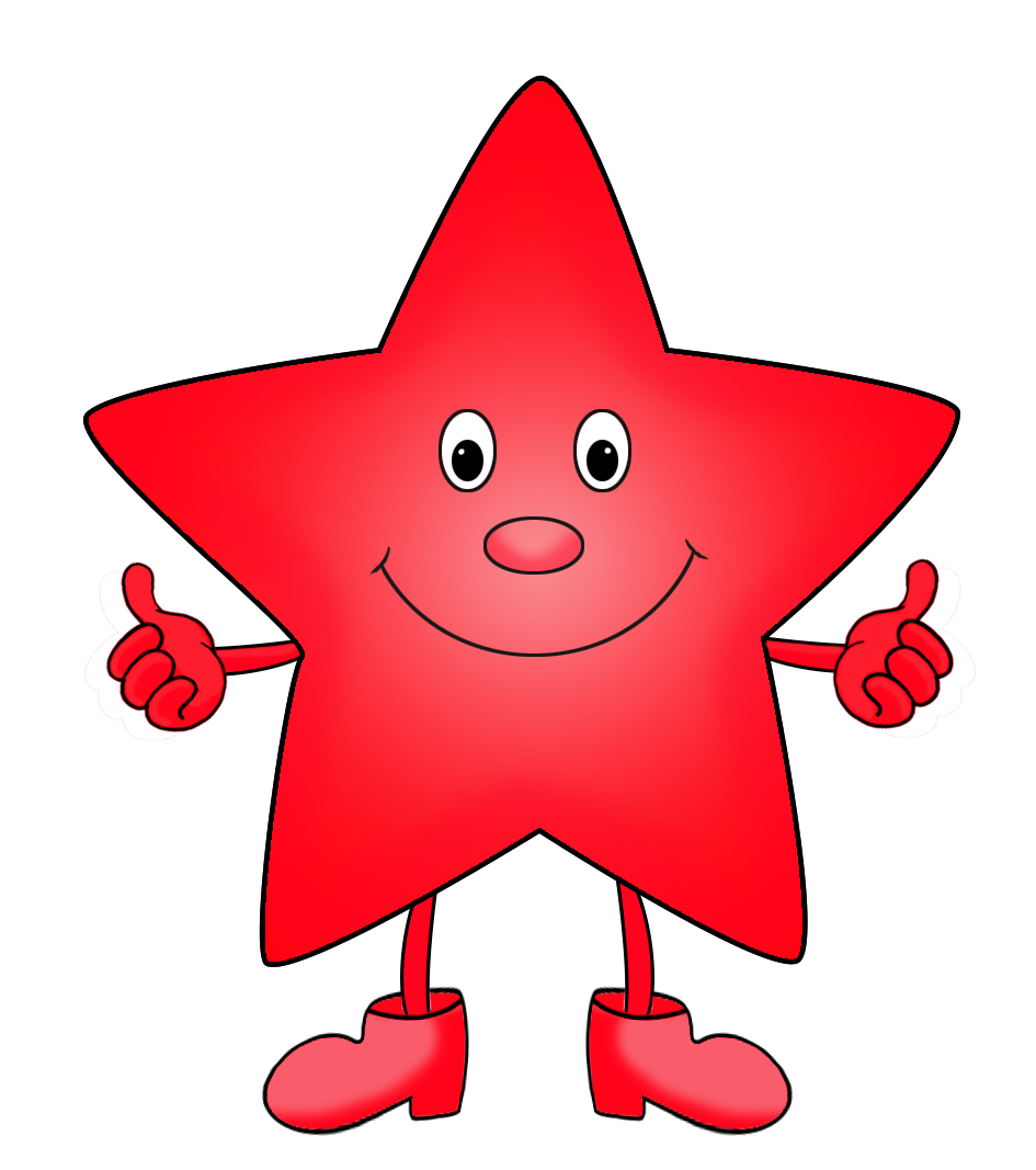 Clipart red star picture free stock Cartoon Star Images Group (52+) picture free stock