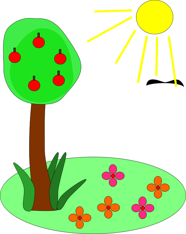 Sun and plant clipart png royalty free Plant And Sun Clipart & Plant And Sun Clip Art Images #2847 - OnClipart png royalty free