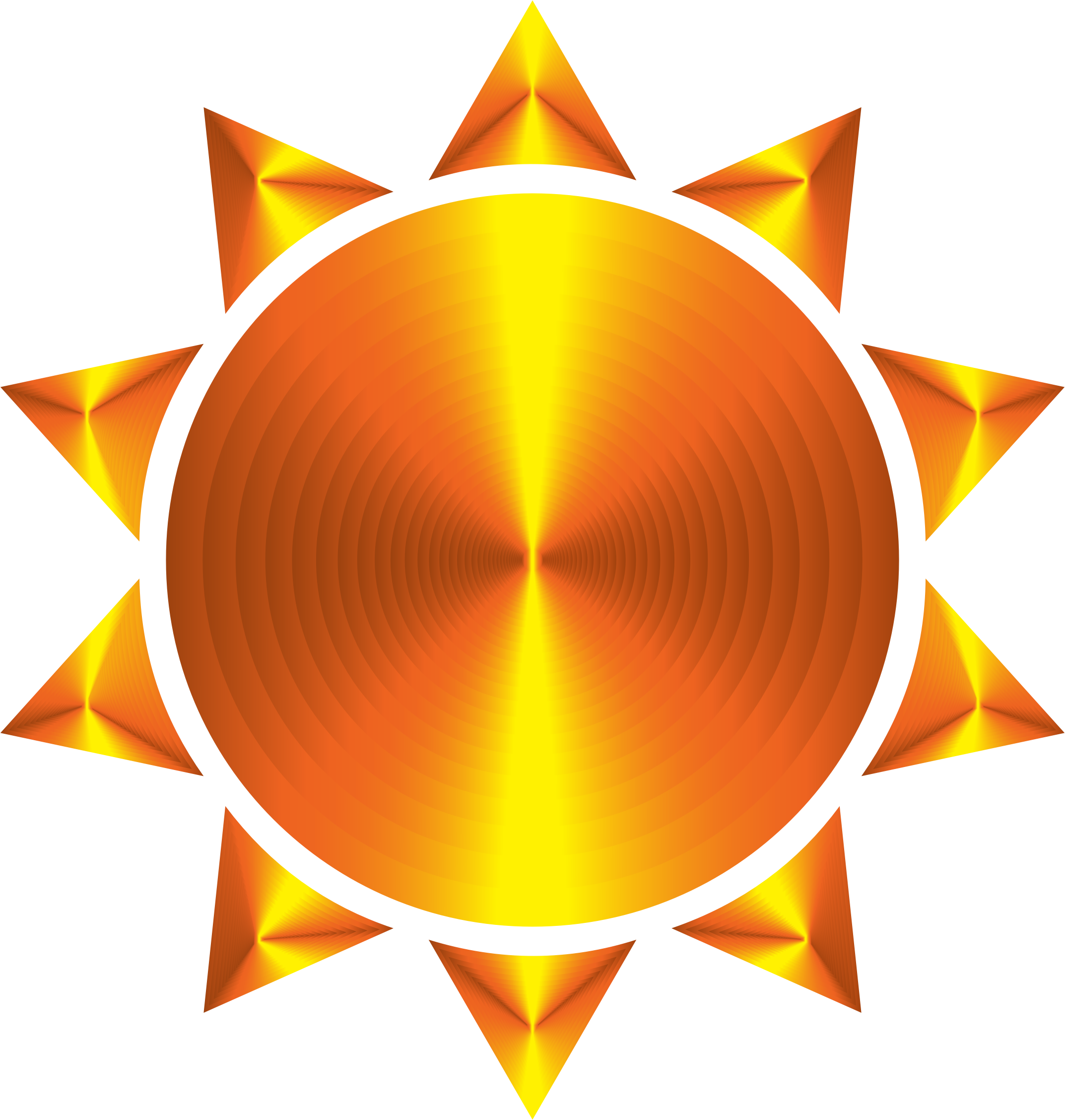 Animated sun clipart picture library download Clipart - Prismatic Sun Icon Variation 5 picture library download